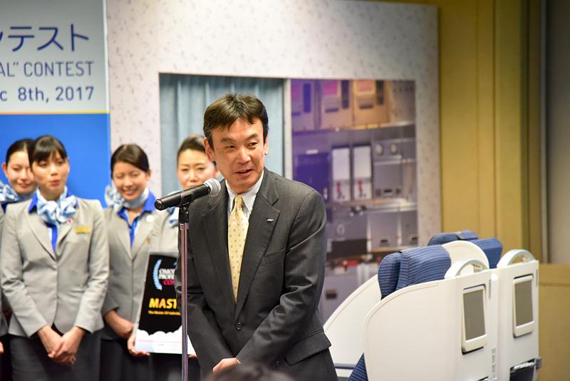 閉会式では取締役 執行役員 伊東裕氏が総評