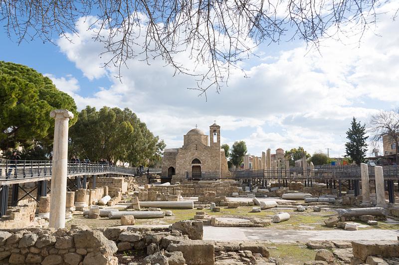 聖パウロの柱(St. Paul's Pillar)や、キプロス島最初期の礼拝堂跡地
