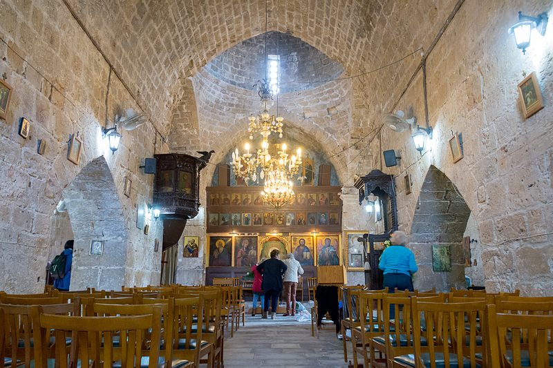 13世紀の東ローマ帝国統治時代に作られたギリシャ正教会の教会