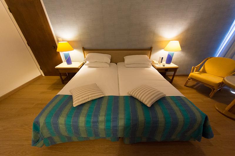 最も多い192部屋を備える、シー・ビュー(Sea View)の客室