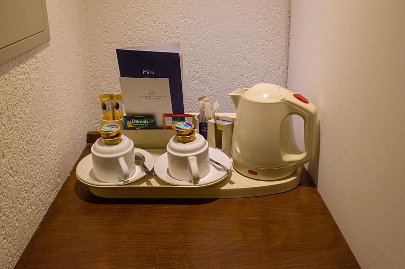コーヒーや紅茶などは無料