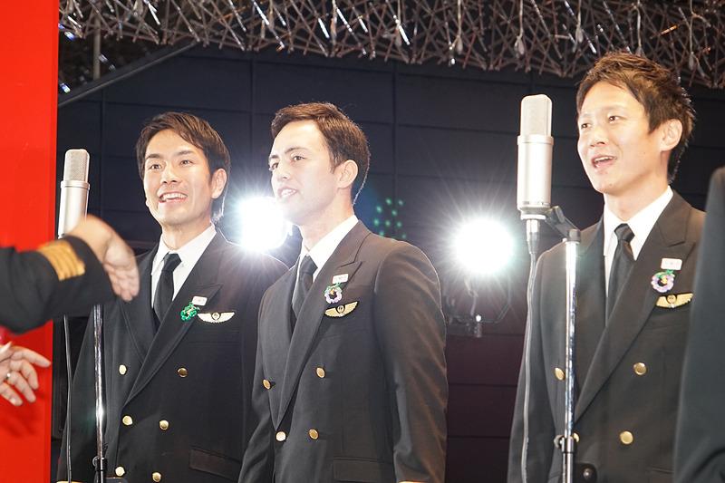 指揮者の織田直行さんは767のキャプテン