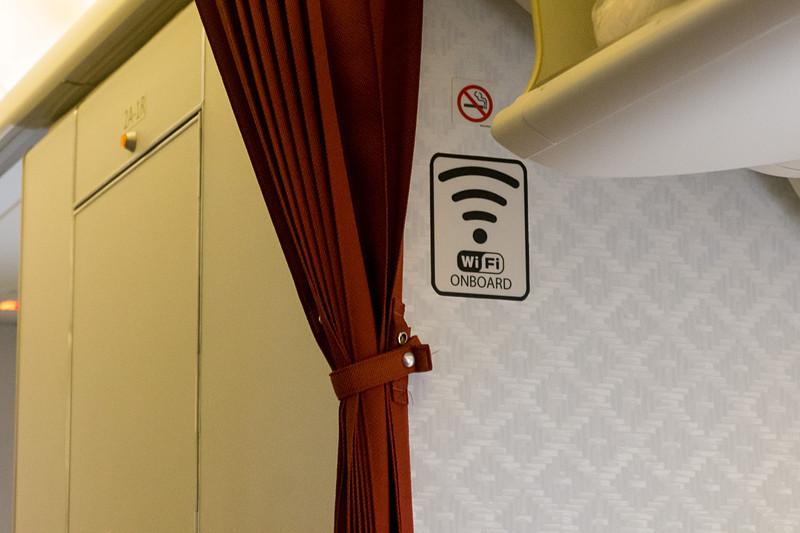 機内Wi-Fiインターネットを装備