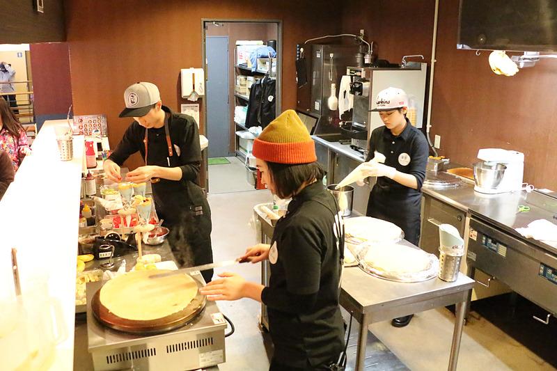 yamacafeのキッチン