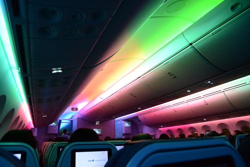 七色の機内