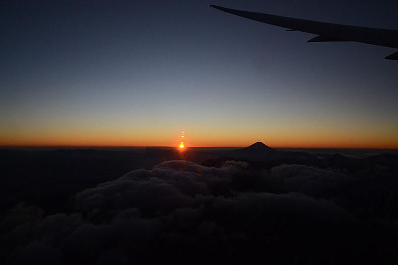 太陽が出てきた