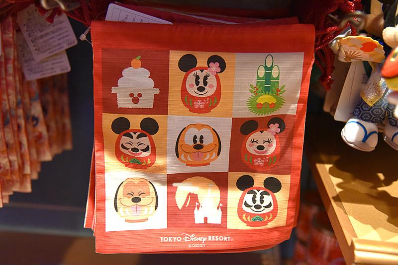 裏面にはダルマシェイプのミッキーマウスたちが描かれている
