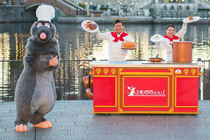 映画「レミーのおいしいレストラン」でシェフを務めるねずみのレミーが最高の料理を作るための秘訣をアドバイス(提供:オリエンタルランド)