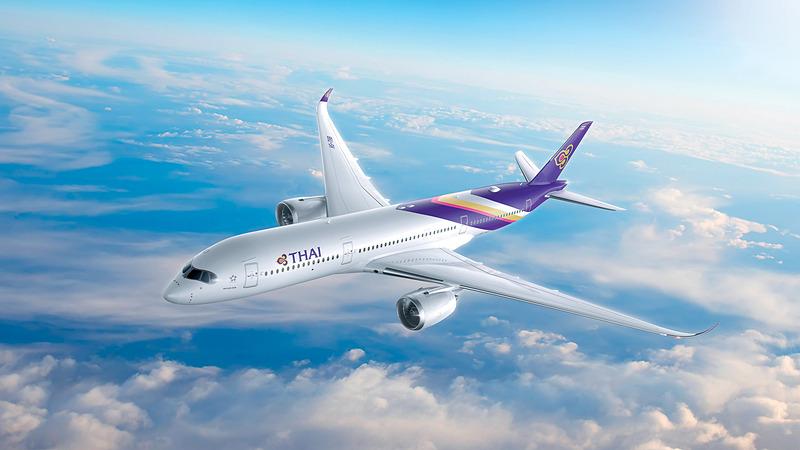 タイ国際航空が日本路線にエアバス A350-900型機を導入する