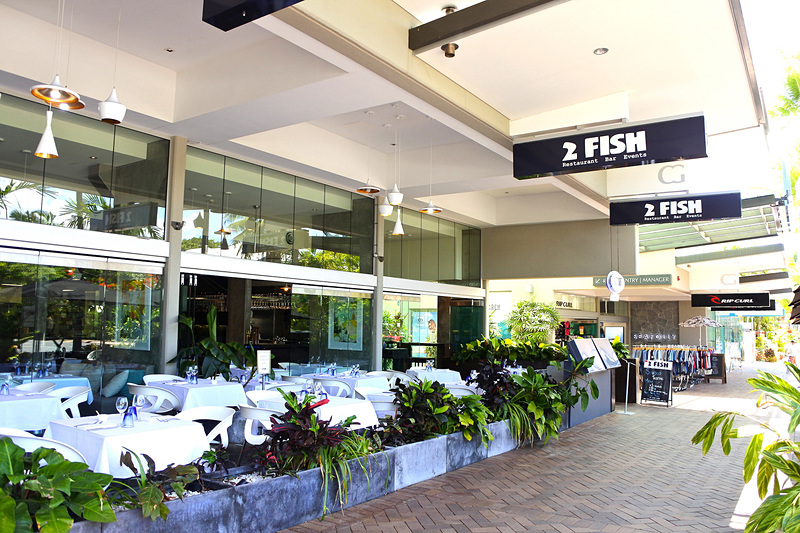 地元でも人気のシーフードレストラン「2 Fish Restaurant Port Douglas」