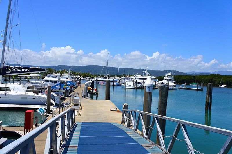桟橋付近にも向かえるので、出航気分が味わえる