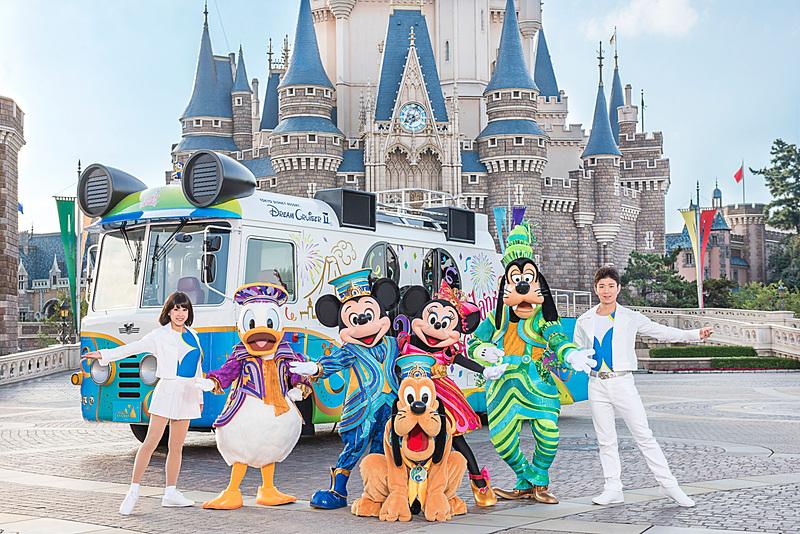 東京ディズニーリゾート35周年スペシャルパレード(イメージ)