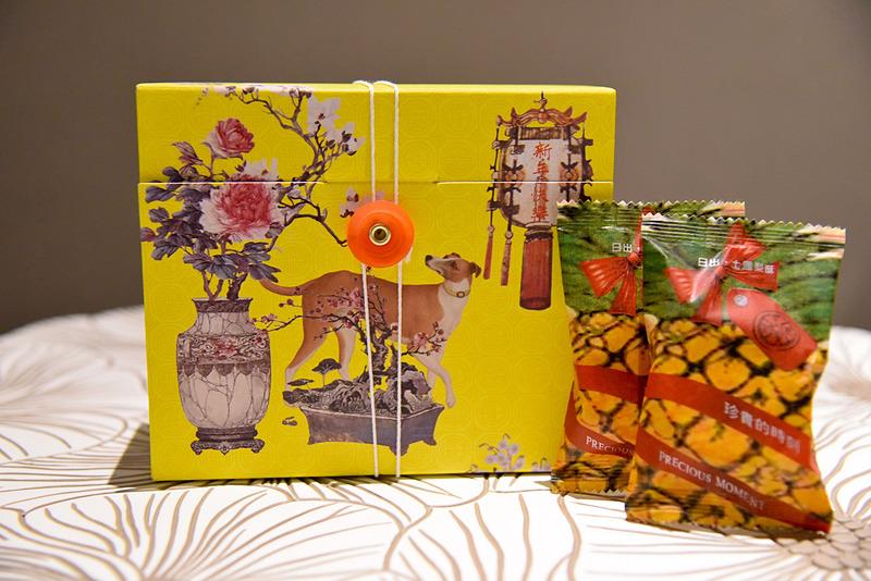 パッケージも独特のデザインでスペシャル感たっぷり。「ネイティブパイナップルケーキ(15個入り)」(380台湾ドル、約1444円)