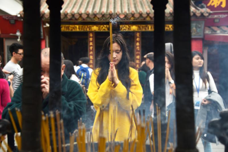 「台北霞海城隍廟」で恋愛成就の神様にご挨拶をしてきました
