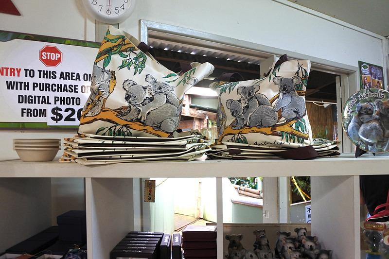 使いやすいコアラ柄のバッグなども