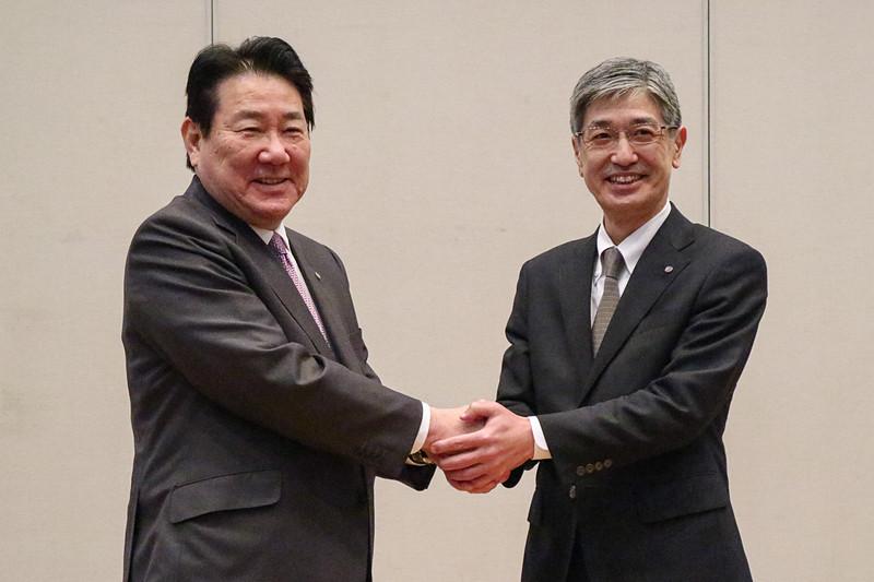 JALは4月1日以降の社長の交代などについて発表した
