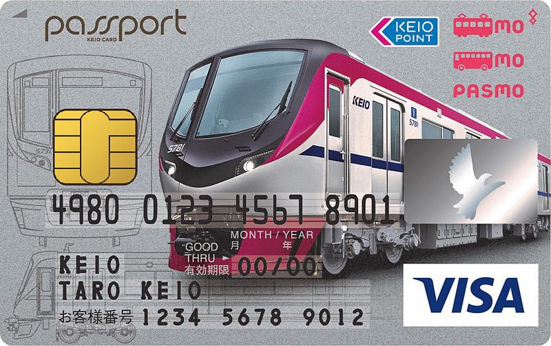 京王パスポートVISAカード(限定デザイン)