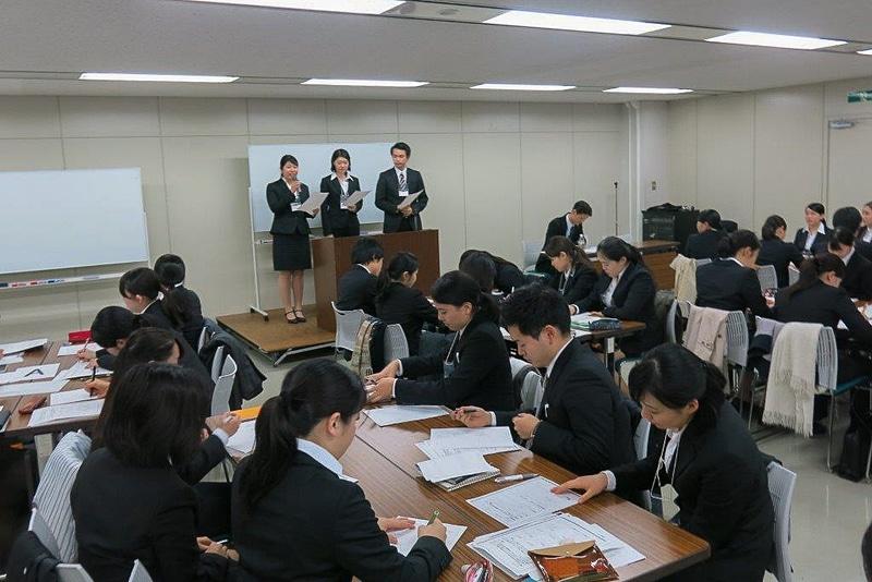 前回実施した「JATAインターンシップ」に参加した学生たち(写真提供:日本旅行業協会)
