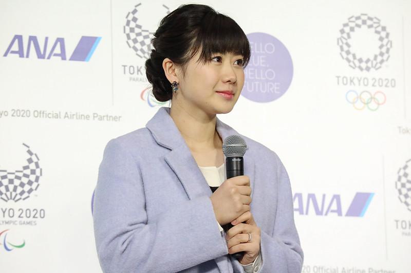 ANA所属の卓球選手、福原愛さん