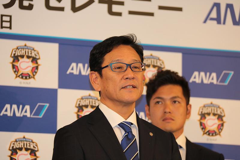 北海道日本ハムファイターズ 監督 栗山英樹氏