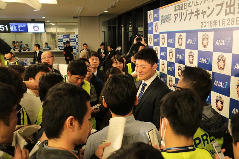 清宮幸太郎選手
