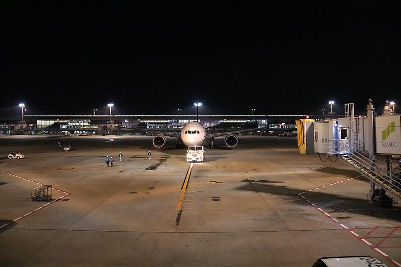 約130名が搭乗したNH1986便、ボーイング 787-9型機