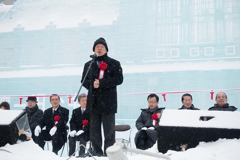 台北駐日経済文化代表処 代表 謝長廷氏