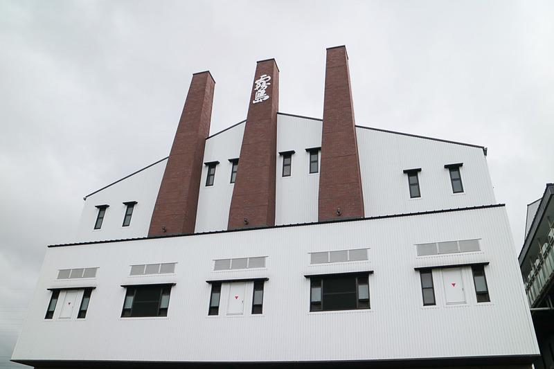霧島酒造の本社増設工場