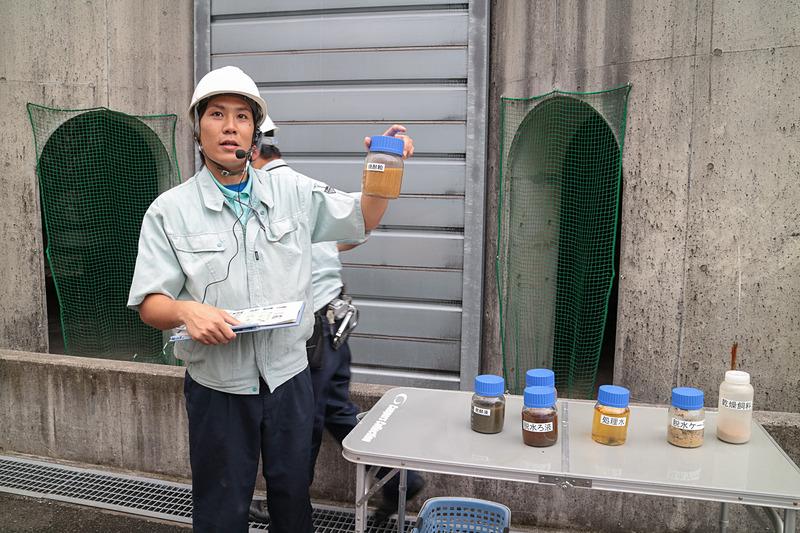 霧島酒造の環境への取り組みについて説明する霧島酒造株式会社 グリーンエネルギー部の下石義仁氏