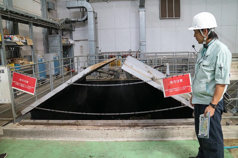 焼酎製造の過程で「芋くず」は1日約10トン発生する