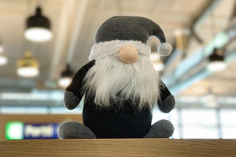 空港で見かけたトゥントゥ