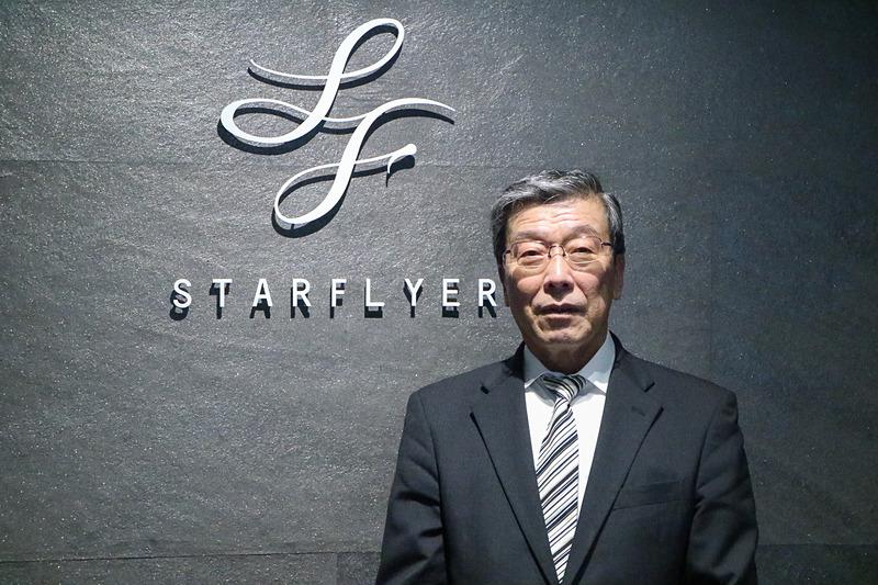 「アンテナショップは売り上げがどうこうではなく、お客さまに来ていただいてスターフライヤーを感じていただければ」と思いを語る松石禎己氏