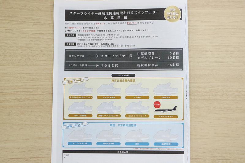 東京交通会館や周辺のショップをまわるスタンプラリーを実施中