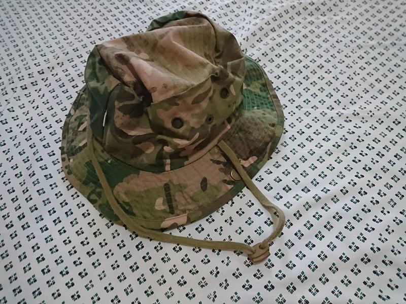 帽子。日焼け予防