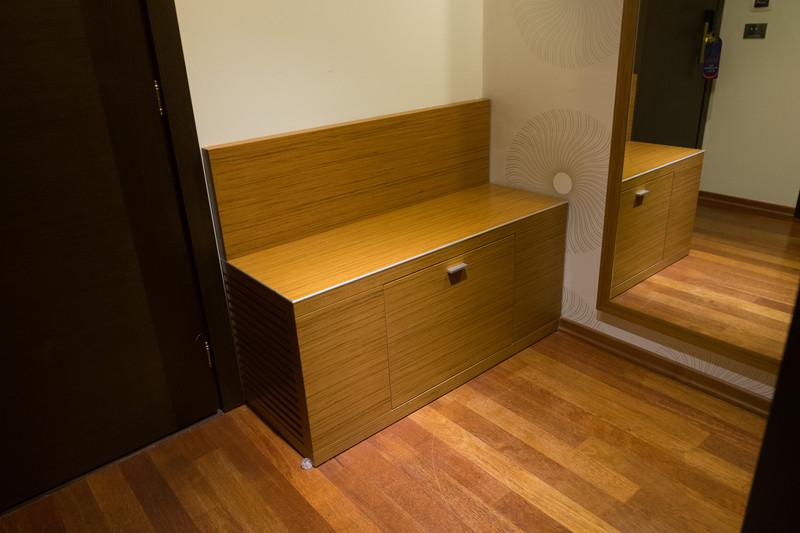 客室は外観から受けるイメージどおりの豪華さ。宿泊したのはデラックスタイプのツインベッドルーム
