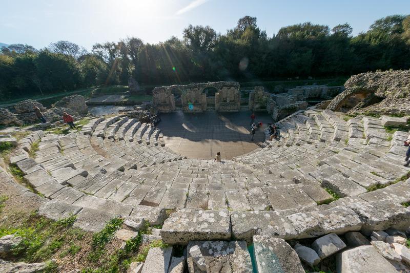 同じくローマ帝国期のシアター跡