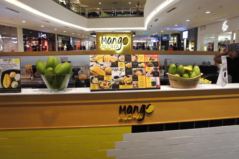 「Mid Valley Megamall」の「Mango Aloha」でデザートタイム