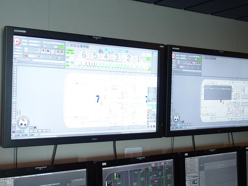 船内各部をブロックに分けて状況監視とリモートコントロールによる応急作業に対応する