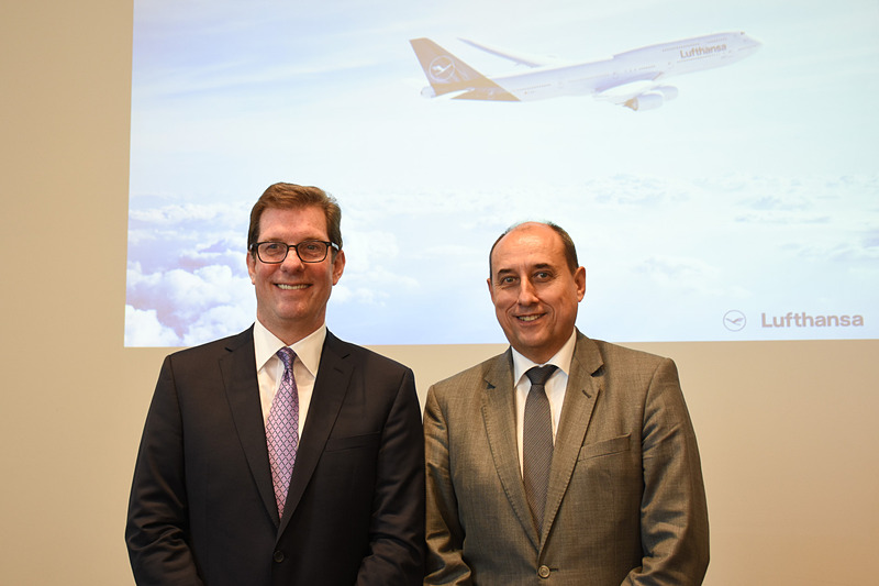 ルフトハンザ ドイツ航空が新しいブランドデザインの狙いなどについて説明した