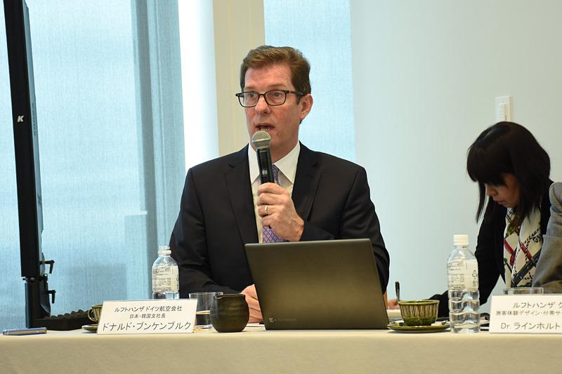ルフトハンザ ドイツ航空 日本・韓国支社長 兼 スイス インターナショナル エアラインズ 日本・韓国地区支社長 ドナルド・ブンケンブルク(Donald Bunkenburg)氏