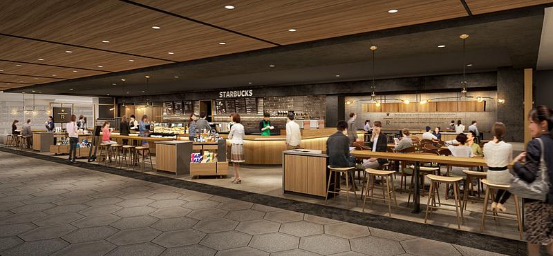 「スターバックス コーヒー LUCUA osaka地下2階店」が4月1日にオープンする