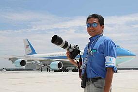 航空写真家チャーリィ古庄氏