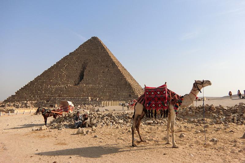 1番小さなメンカウラー王のピラミッド