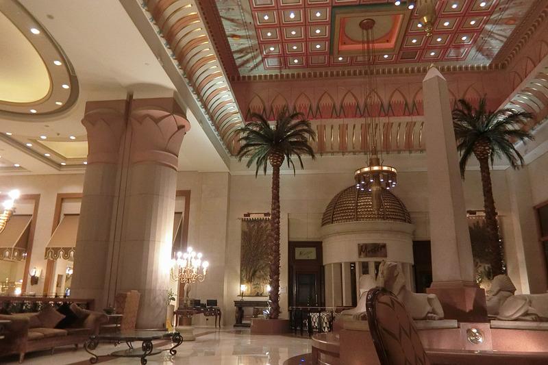 ホテル「InterContinental Cairo Citystars」のロビー
