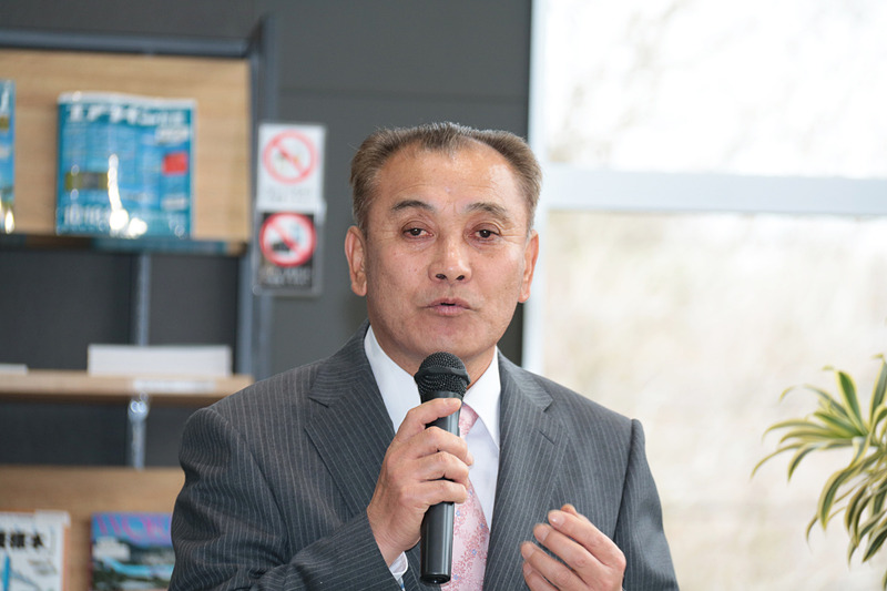 成田市・さくらの山管理組合 理事長の堀越一仁氏