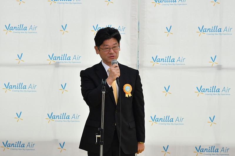 バニラ・エア株式会社 代表取締役社長 五島勝也氏