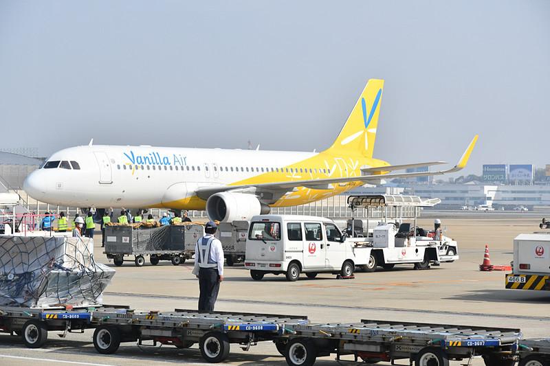 9時39分、JW151便(エアバス A320型機、登録記号:JA10VA)がスポットアウト