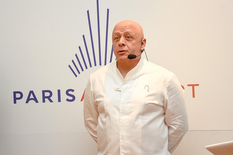 レストラン「Thierry Marx」「Bistro Marx」のオーナーシェフ ティエリー・マルクス氏