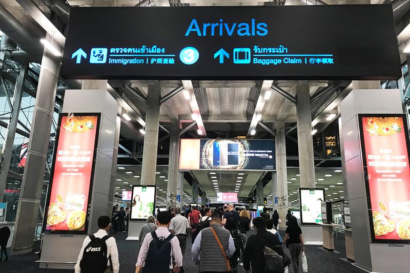 とにかく規模がハンパないスワンナプーム国際空港
