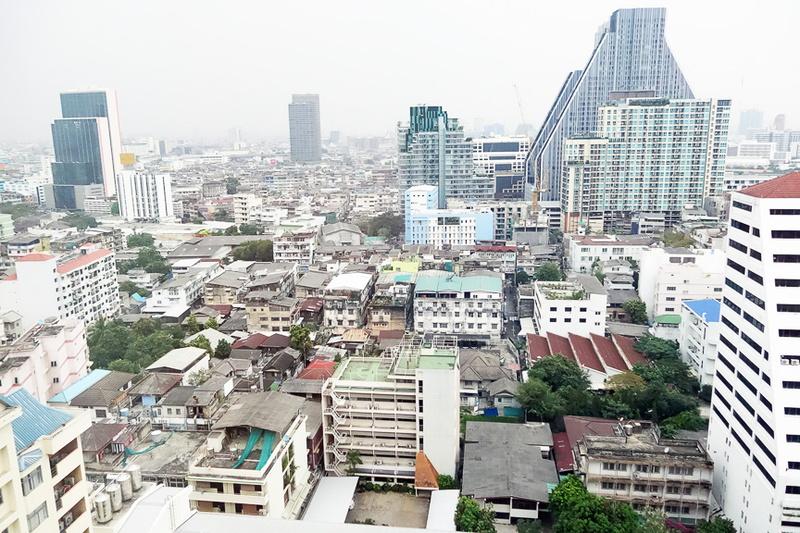 20階の部屋からの眺め